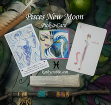 Pisces New Moon Reading: Find Protection & Truth