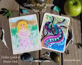 Taurus Full Moon: I am of the EARTH