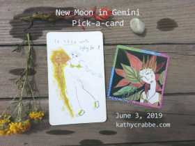 Gemini New Moon: Strong + Strange (Pick-a-Card)