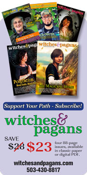 Witches and Pagans magazine.