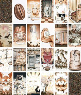 Coffee Tarot - Blending Common Symbols with the Tarot