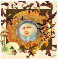 Goddess in Autumn