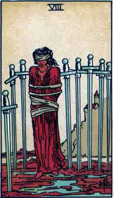 Healing with the Eight of Swords
