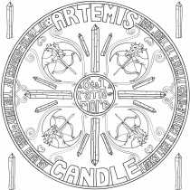 ARTEMIS or CANDLE CRYSTAL - REVISIT