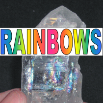 RAINBOWS IN CRYSTALS - WHAT ARE THEY !?