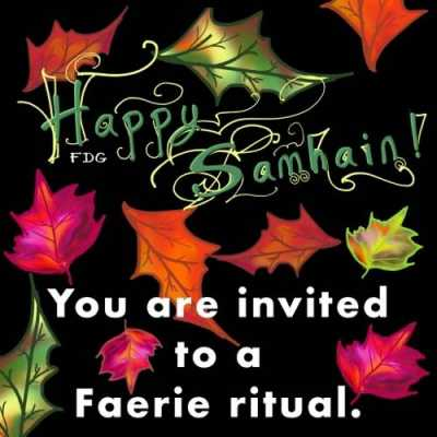 You're invited to a Samhain ritual