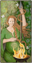 The Pregnant Pause after Imbolc