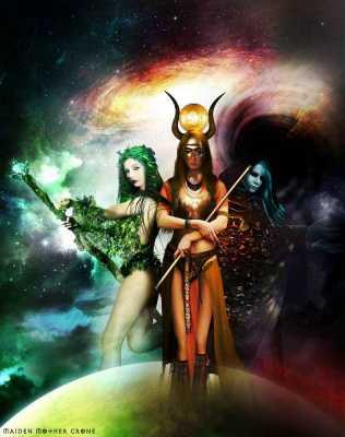 The Empowered Goddess