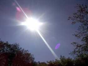 The Sun High Above Us