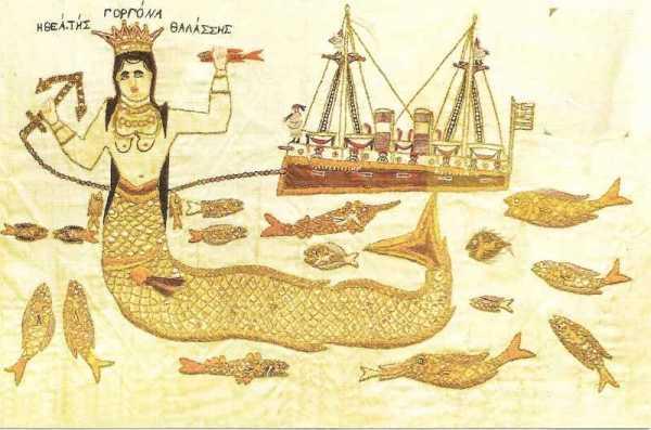 """MERMAID, GODDESS OF THE SEA"""