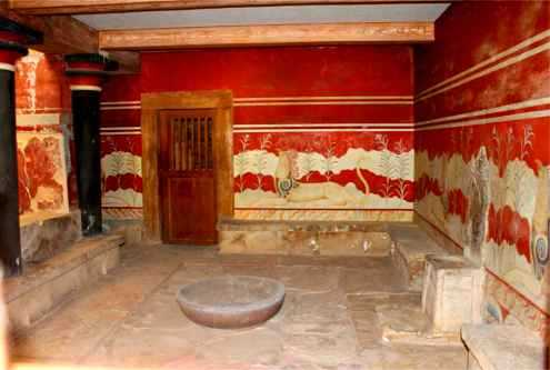 As Solstice Dawns in Knossos