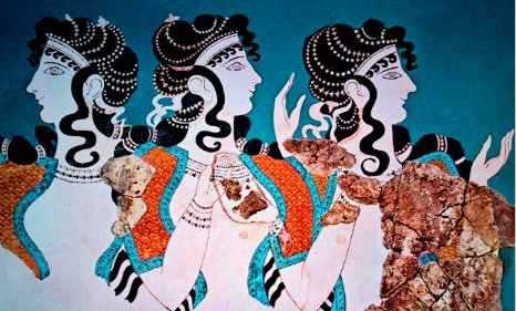 The Minoan Threefold Goddess: The Great Mothers