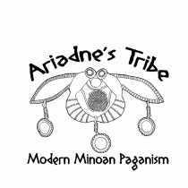 Modern Minoan Paganism: a logo for Ariadne's Tribe