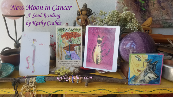 Soul Reading for the New Moon in Cancer