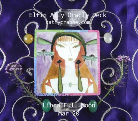 Dragonfly Delite Oracle: Libra Full Moon Mar. 20